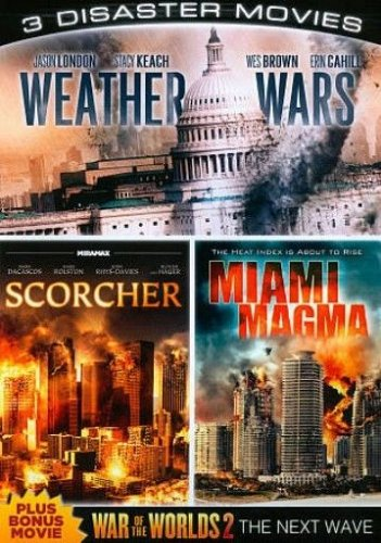 3movie plus DVD Weather Wars Miami Magma Rachel HUNTER Melissa ORDWAY Kim LITTLE