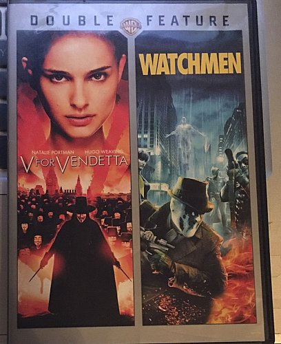 V for Vendetta WATCHMEN DVD Natalie PORTMAN John HURT Malin AKERMAN Carla GUGINO