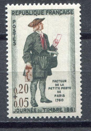 France Stamp Day mnh 1961