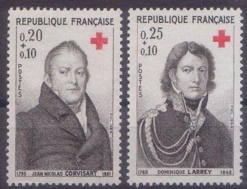 France Red Cross mnh 1964