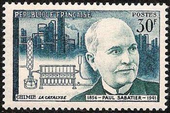France Scientists Paul Sabatier mnh 1956
