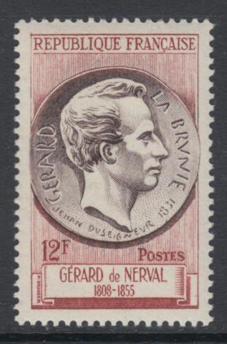 France Gerard De Nerval mnh 1955