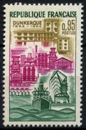 France Cession of Dunkirk to France mnh 1962