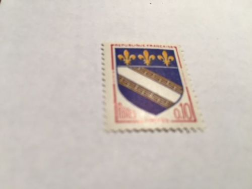 France Coat of Arms 0.10 mnh 1963