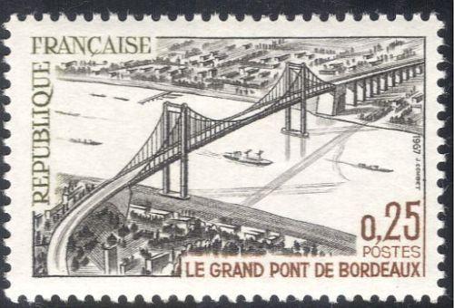France Great Bridge - Bordeaux mnh 1967