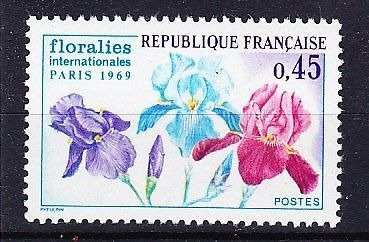 France Flower Show mnh 1969