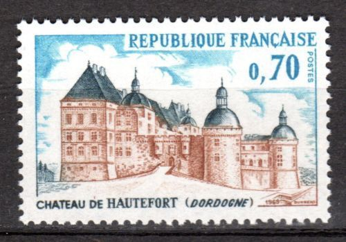 France Hautefort Castle mnh 1969