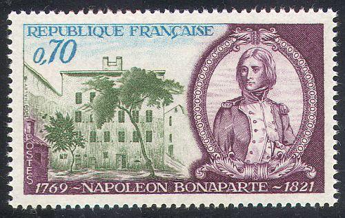 France Birth of Napoleon Bonaparte mnh 1969