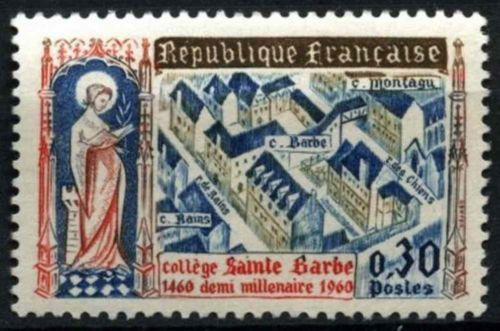 France Saint Barbe College mnh 1960