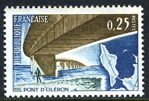 France Opening of the Oléron Bridge mnh 1966