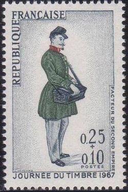 France Stamp Day mnh 1967