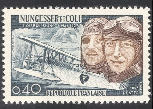 France Nungesser and Coli mnh 1967