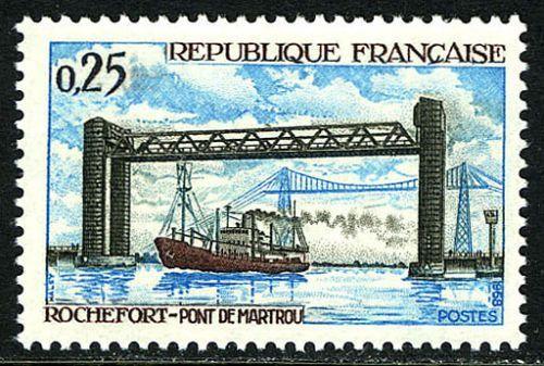 France Martrou Bridge mnh 1968