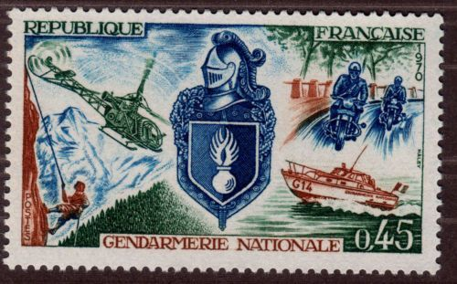 France National Gendarmerie mnh 1970