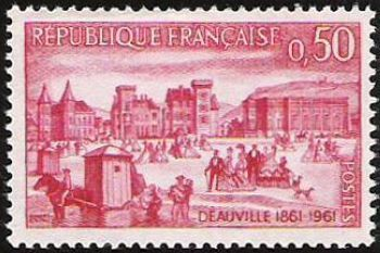 France Anniversary of Deauville mnh 1961