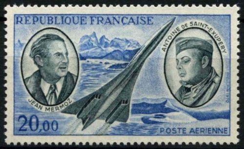 France Pioneer Aviators mnh 1970