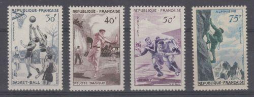 France Sports mnh 1956