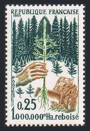 France Reforestation mnh 1965