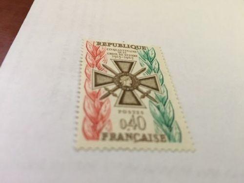 France Croix de Guerre mnh 1965