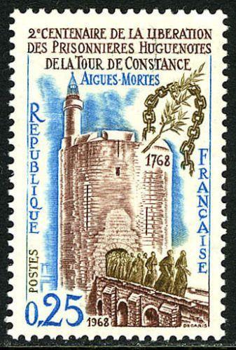 France Release of Huguenot Prisoners mnh 1968