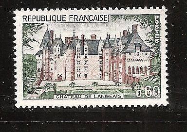 France Chateau de Langeais mnh 1968