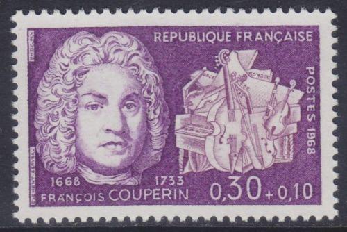 France Francois Couperin mnh 1968