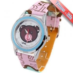 Cute Bear Pattern Dial Unisex new watch