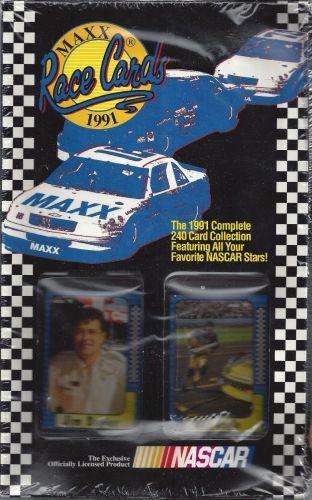1991 MAXX Race Cards Set - Factory Sealed w/240 Nascar Cards