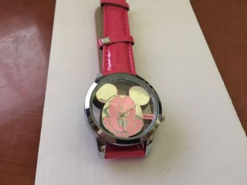 Mickey Mouse lovely new watch Red