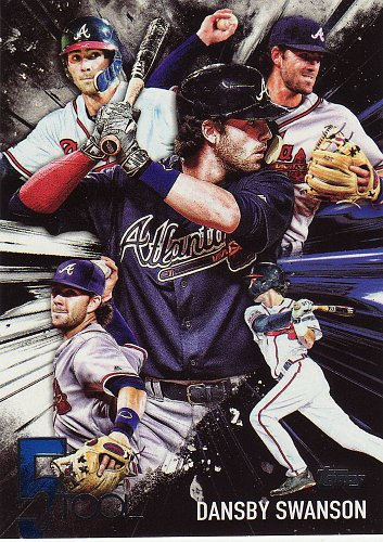 2017 Topps Five Tool #5T-48 - Dansby Swanson - Braves