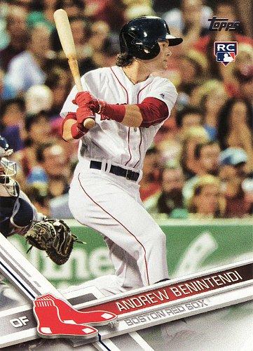 2017 Topps #283 - Andrew Benintendi - Red Sox