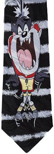 JTI Taz Tasmanian Devil Looney Tunes Football Novelty Necktie