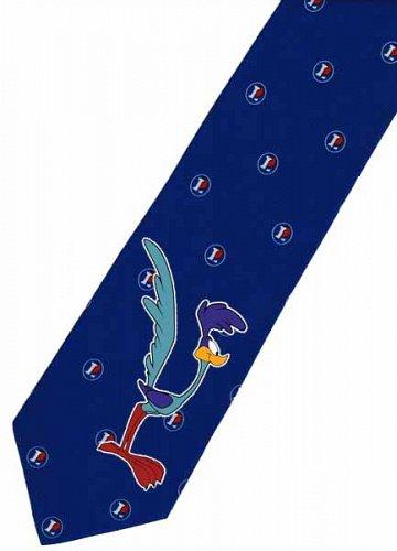 JTI The Road Runner Bird Looney Tunes Novelty Necktie