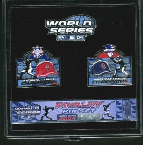 2004 World Series Rivalry Pin Set Limited Edition #d 144