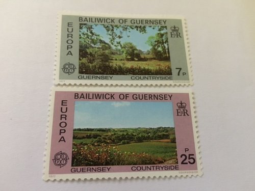 Guernsey Europa 1977 mnh