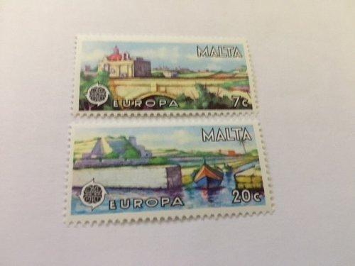 Malta Europa 1977 mnh