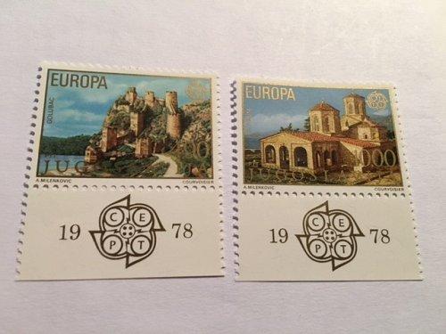 Yugoslavia Europa 1978 mnh