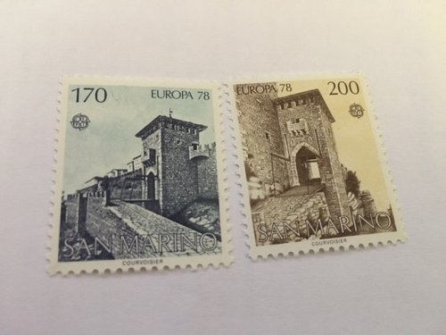 San Marino Europa 1978 mnh