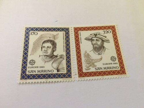 San Marino Europa 1980 mnh stamps