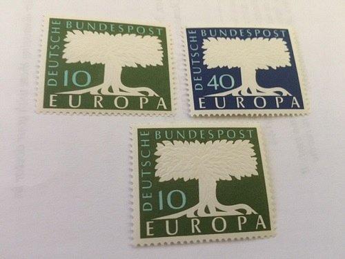Germany Europa 1957 mnh