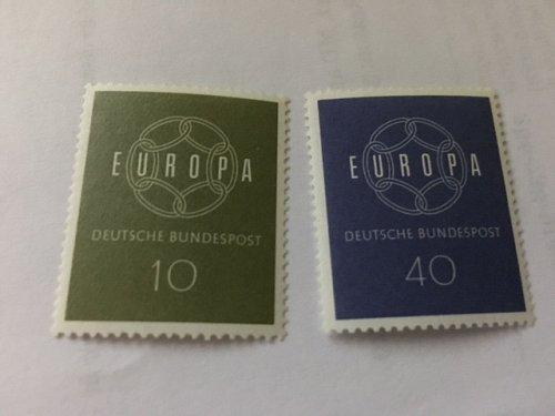 Germany Europa 1959 mnh