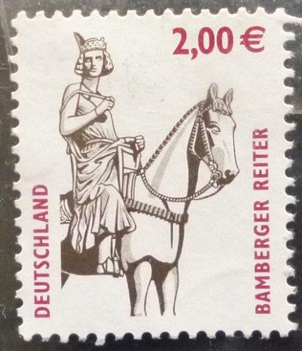 Stamp Germany 2003 Tourism Bamberg Rider 2 Euro