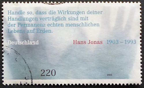 Stamp Germany 2003 The 100th Anniversary of the Birth of Hans Jonas, 1903-1993 2.20 E