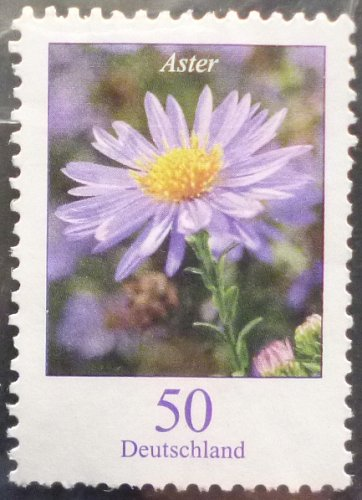 Stamp Germany 2005 Definitive Issue - Flowers Autumn Aster 0.50 Euro