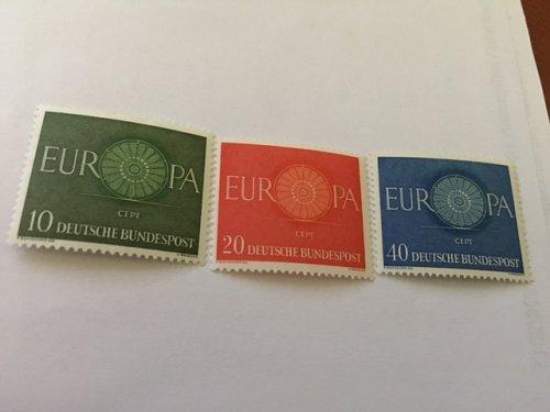Germany Europa 1960 mnh