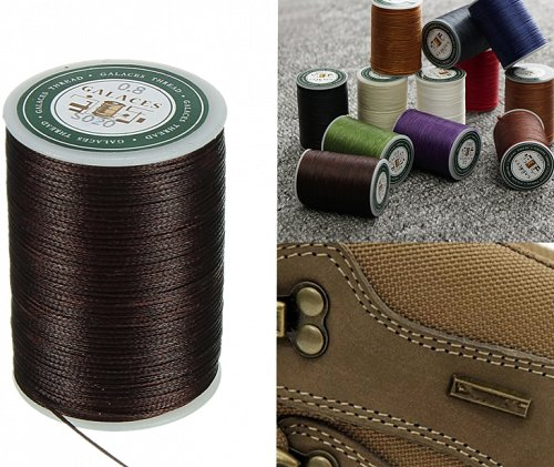 1 roll leather sewing thread polyester