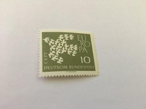 Germany Europa 1961 mnh