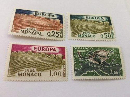 Monaco Europa 1962 mnh
