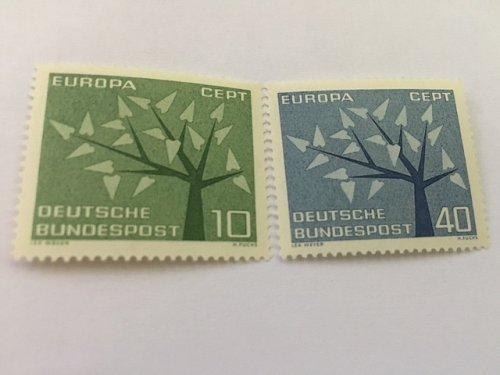 Germany Europa 1962 mnh