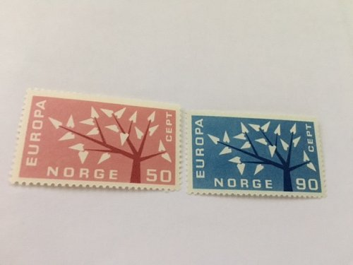 Norway Norge Europa 1962 mnh
